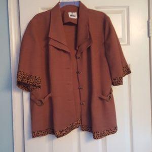 Leslie Fay Jackets & Coats - Woman's button down blazer